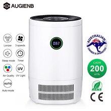 Очиститель воздуха AUGIENB для дома, Фильтры HEPA, очистители воздуха для рабочего стола, очиститель воздуха 200 м3/ч CE для пыльцы курильщика