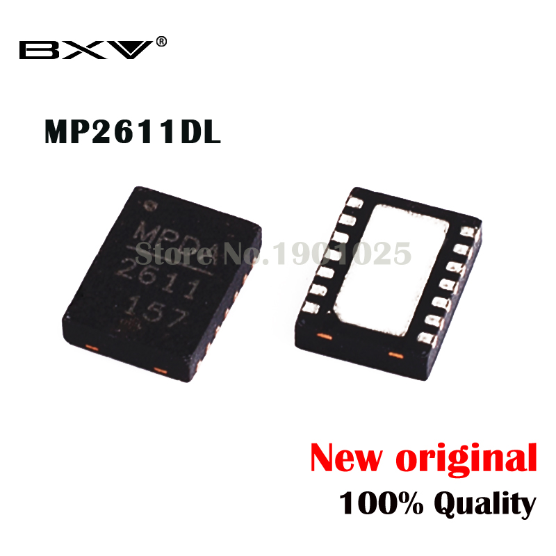 2pcs MP2611DL  MP2611  2611DL 2611 QFN-14 New Original