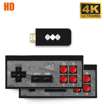 USB Wireless Handheld Support AV/HDMI Output TV Video Game Console Build In 600 Classic 8 Bit Mini Video Console Family Games цена 2017