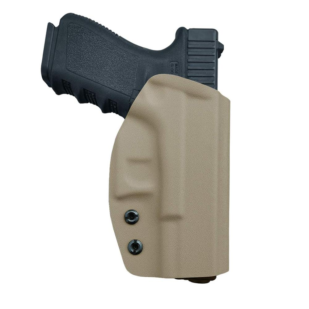 BBF Make OWB KYDEX Holster Fits: Glock 19 19x 23 32 17 22 3125 26 27 33 CZ P10 Gun Holster Belt Outside Carry Pistol Case Pouch