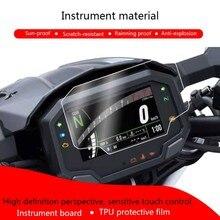 Cluster proteção contra riscos da motocicleta filme protetor de tela para kawasaki 2020 ninja650 z650 z900