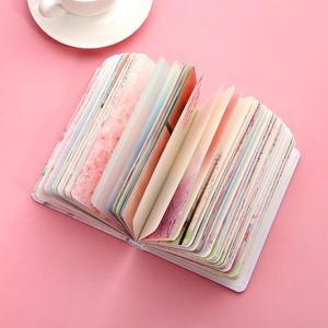 Image 5 - JIANWU ساكورا فتاة دفتر اللون الداخلية صفحة مخطط لتقوم بها بنفسك دفتر يوميات القرطاسية scool اللوازم المكتبية kawaii