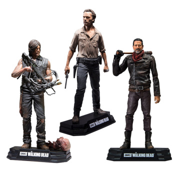15cm The Walking Dead Season 8 Rick Grimes Daryl Dixon Negan action figure toys collector Christmas gift doll with box цена 2017