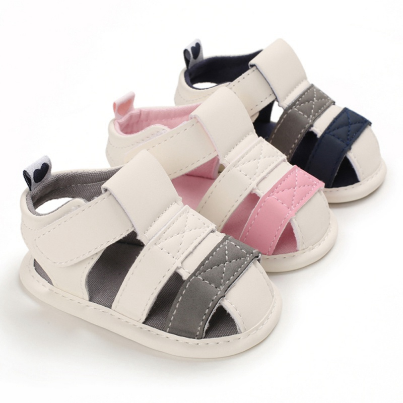 2020 Newborn Baby Boys Fashion Summer Soft Crib Shoes Children Bebe Boys Casual First Walker Anti Slip Shoes Soft Sole Sneaker