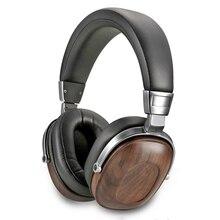 B8 kulaklık HIFI Stereo dinamik ahşap kulaklık üzerinde kulak DJ İzleme kulaklıkları stüdyo ses gürültü iptal iyi kulaklık