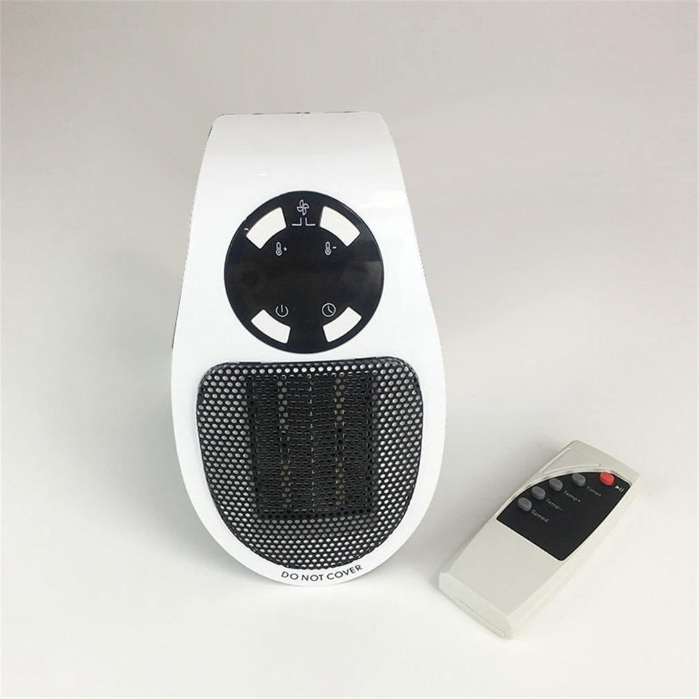 500W Portable Electric Heater Mini Fan Heater Desktop Household Wall Handy Heating Stove Radiator Warmer Machine