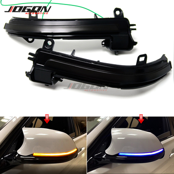 Blue Yellow For BMW 1 2 3 4 Series X1 F20 F22 F30 F34 F32 E84 i3 Side Mirror Indicator LED Dynamic Turn Signal Light Sequential