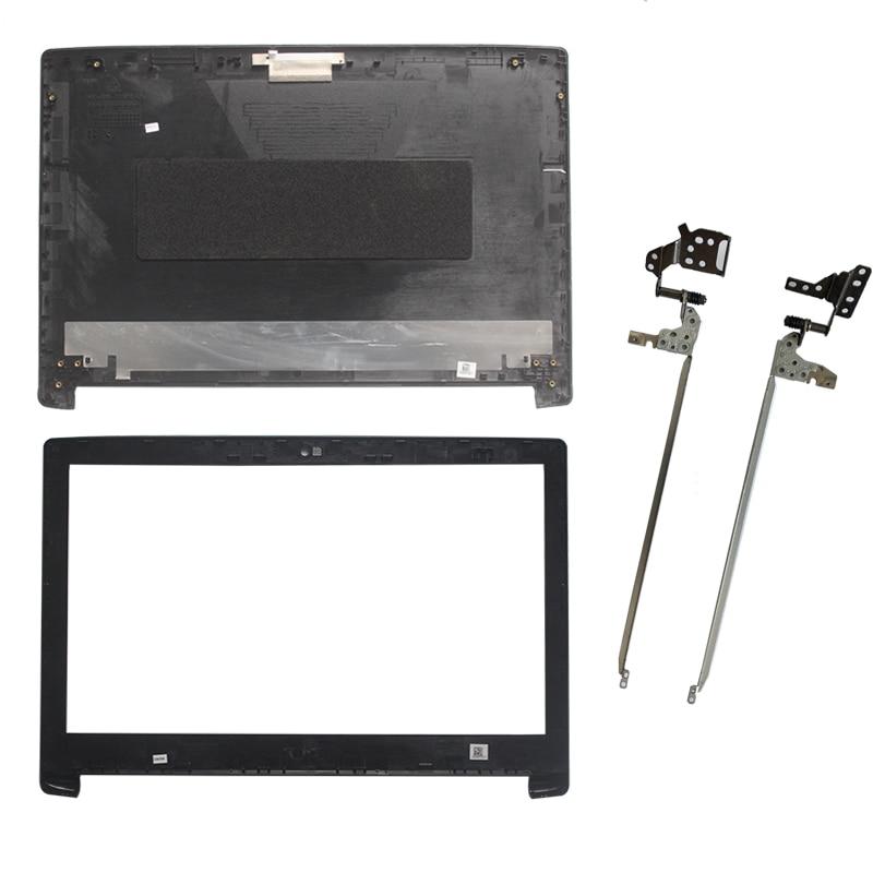 Novo para acer aspire 5 A515-41G A315-53G A315-41G tampa traseira caso superior portátil lcd capa traseira/lcd moldura capa/lcd dobradiças l & r