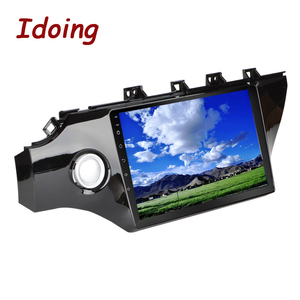 """Image 5 - Idoing 10.2""""4G+64G 2.5D IPS Octa Core 1Din Car Android Radio Video Player For Kia Rio K2 2017 2018 GPS Navigation and GLONASS"""