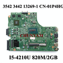 Mainboard FX3MC Dell Inspiron 2G 13269-1 for 3543/3443/3542 3442 Fx3mc/Cn-01p4hg/1p4hg/..