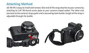 Image 3 - עור מפוצל יד רצועת חגורת מצלמה גריפ יד מהיר להתקין עבור Canon EOS 250D 200D M6 Mark II RP R M50 m200 M100 M10 M5 M3 M2 M