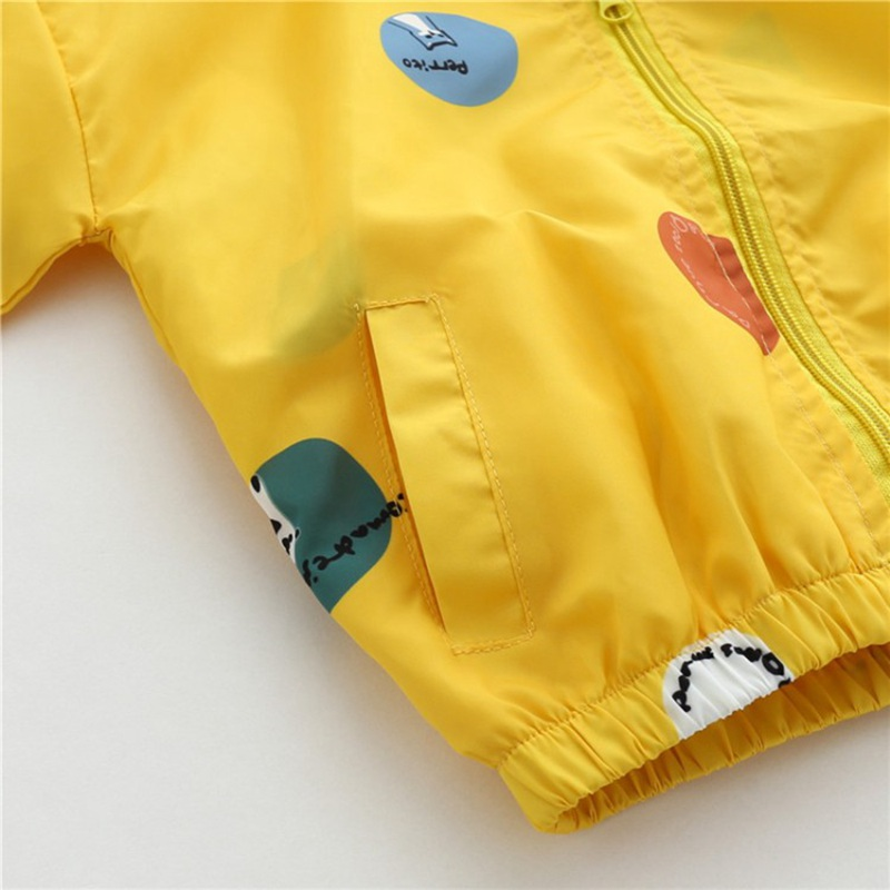 CROAL CHERIE Cute Dot Animal Fall Kids Boy Jacket For Girls Trech Coat Children Clothing Hooded Windbreaker Outerwear Clothes (6)
