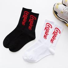 Хип-хоп прилив носки Harajuku скейт носки мужчины и женщины носки хлопка носки пару алфавита