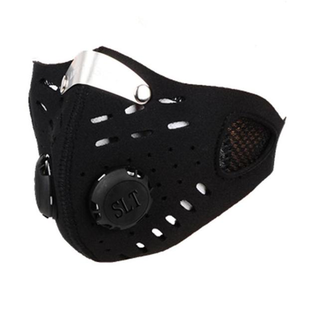 Hot Sale Mask Cycling Dust Mesh Mask Activated Carbon Filter Dust Odor Mask Anti-fog Electric Mask Face Dust Mask