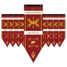 Римские легированные флаги SPQR Римская империя легиона войны баннеры Декор для дома двора сада украшения флаги S2-2 варварская война