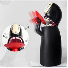 Kaonashi顔自動音楽貯金箱貯金箱電子コイン収納銀行宮崎駿千尋デザインギフト