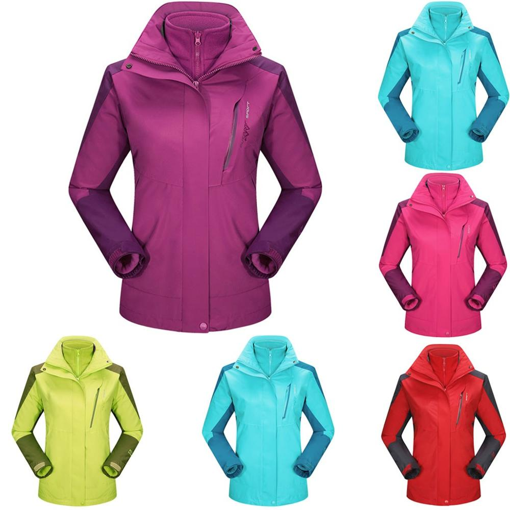 High Quality Women Outdoor Sport Jacket Winter Warm Skiing Snowboard Jackets Waterproof Quick-drying Breathable Sport Coat