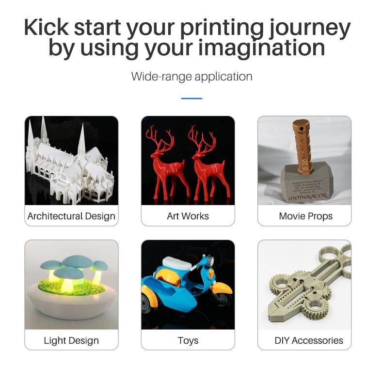 Hb603dda8a2324ddeb5c5b1398ccb134fk Flashforge Adventurer 3 DIY 3D Printer