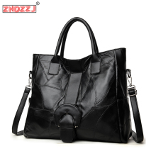 Leather Handbags Famous Brands Casual Large Capacity Big Shoulder Crossbody Bags Female Bag 2020 Women Shoulder Messenger Bag