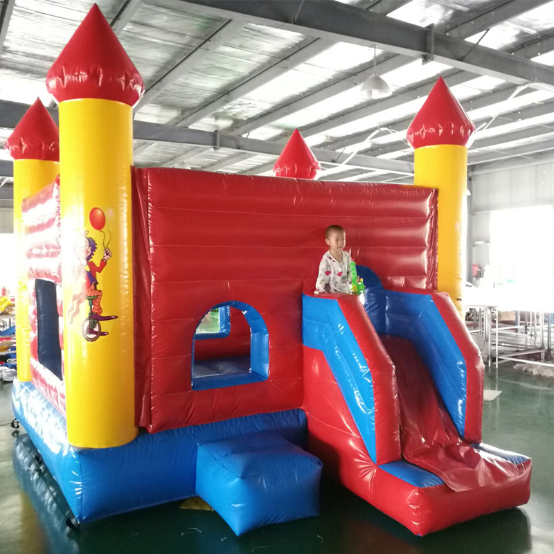 New Style Kids Jumping Bounce Castle Children Bounce House Inflatable Birthday Gift