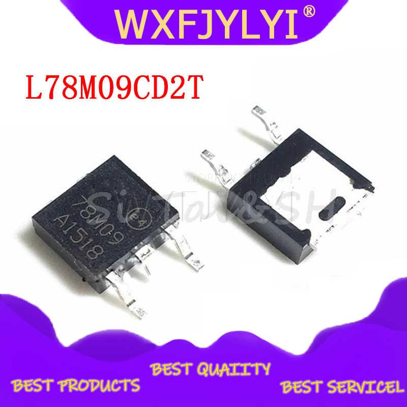 Chanzon 10pcs 78M09 TO-252 Three-Terminal Voltage Regulator Transistor SMD