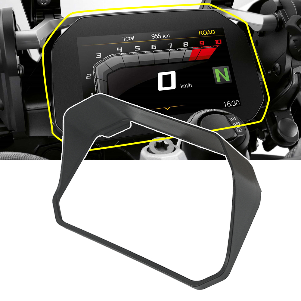 Instrument Hat Sun Visor For BMW R1250GS R1200GS LC Adventure Adv F750gs F850gs C400X Meter Film Screen Cover Guard Protector