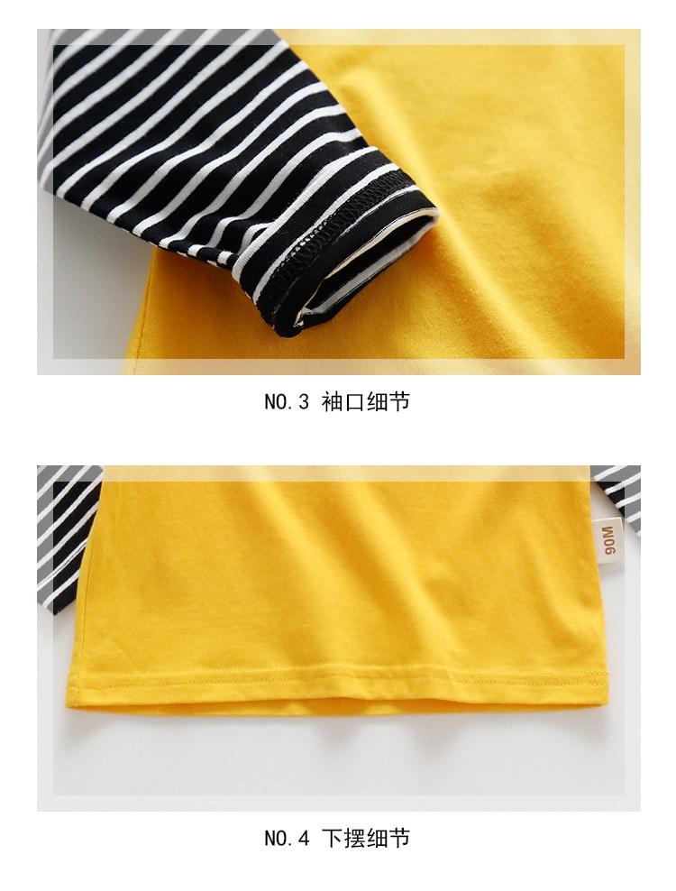 New Spring Boys Girls Cartoon Cotton T Shirts Children Tees Boy Girl Long Sleeve T Shirts Kids Tops Brand Baby Clothes 12M-8Y 52