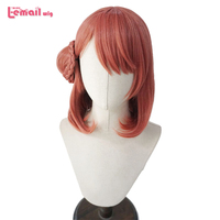L email wig Love Live Perfect Dream Project Cosplay Wigs LoveLive PDP Uehara Ayumu Nakasu Kasumi Wig Synthetic Hair Perucas