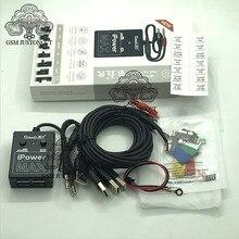 Güç kaynağı iPower Test kablosu ile ON/OFF anahtarı iPower Pro için iPhone 6G/6P/6S/6SP/7G/7P/8G/8P/X DC güç kontrol Test kablosu
