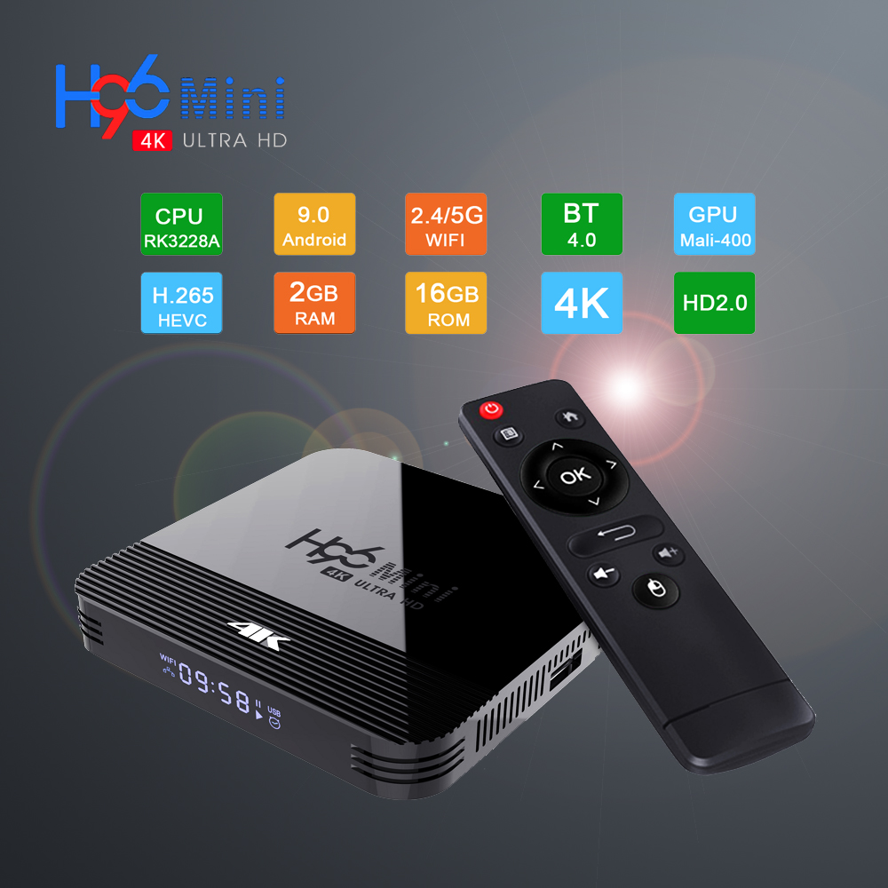 2017 A5X Android 7.1 Turrón TV-Box KD 17.1 Media Player 4K HD WIFI+Mini Teclado