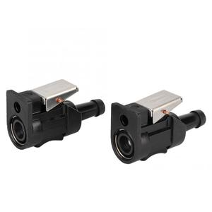 2Pcs Marine Engine Fuel Hose Line Connector 8mm Outboard fishing boats motors Fit for Yamaha 6E5-24305-06-00 anti-rust