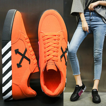 Summer 2020 White Shoes Women's round Head Breathable Casual Shoes Korean-Style Shallow Mouth Trendy Pure Color Shoes Mens Shoes