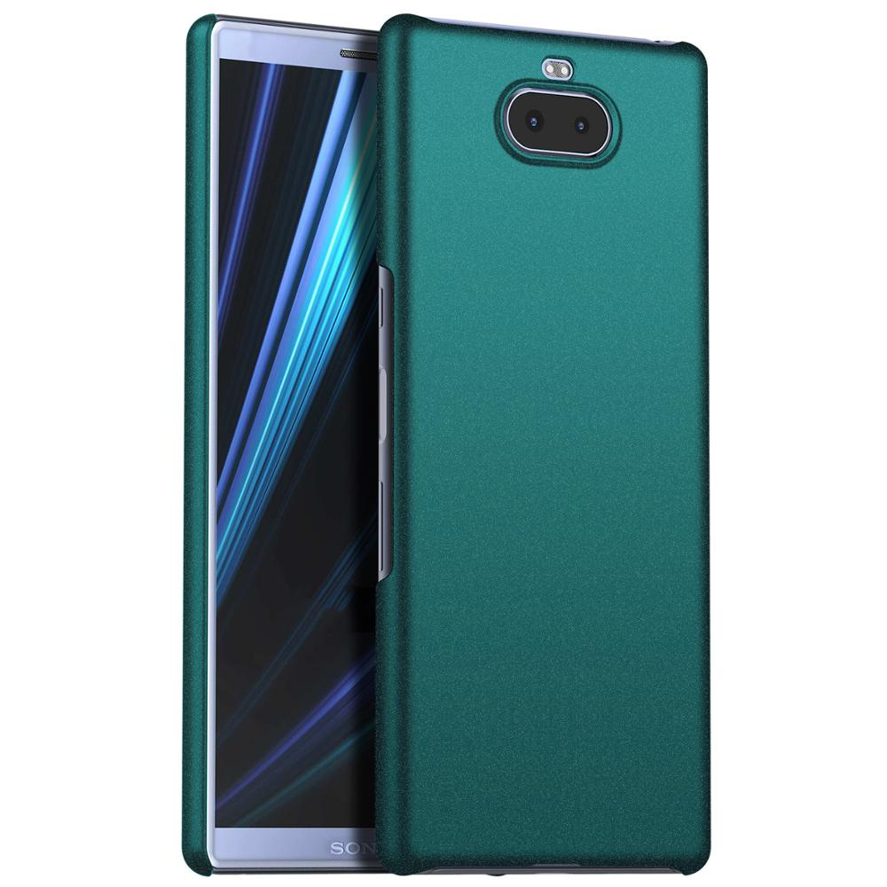 Original <font><b>Case</b></font> For <font><b>Sony</b></font> <font><b>Xperia</b></font> <font><b>10</b></font> Plus <font><b>Case</b></font> Luxury Matte Hard PC <font><b>Cover</b></font> On XA3 Ultra Dual protection <font><b>Cover</b></font> image