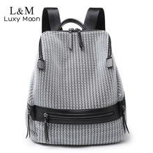 2020 damski nylonowy plecak na co dzień kobiety duże plecaki szkolne torby dla nastoletnich dziewcząt kobieta lekki plecak podróżny XA250H