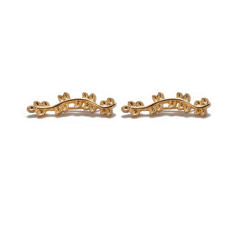 Neue Mode Crysral Ohrringe Splitter Gold Farbe Boho Ohr Manschette Ohr Clip Hochzeit Erklärung Ohrringe Clips Für Frauen Partei Schmuck