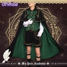 Anime Cosplay My Hero Academia Magician Izuku Midoriya deku Costume Halloween Uniforms Party Costumes