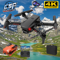 2021 NEUE K9 Drone 4K HD Kamera 360 Grad Headless Modus Taumeln One Key Return Home Mini Faltbare Quadcopter RC Hubschrauber Spielzeug