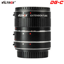 Viltrox DG-C Lens Adapter Ring Mount Auto Focus AF Macro Extension Tube Lens Adapter for Canon EOS camera Mark 850D 77D 60D 7DII