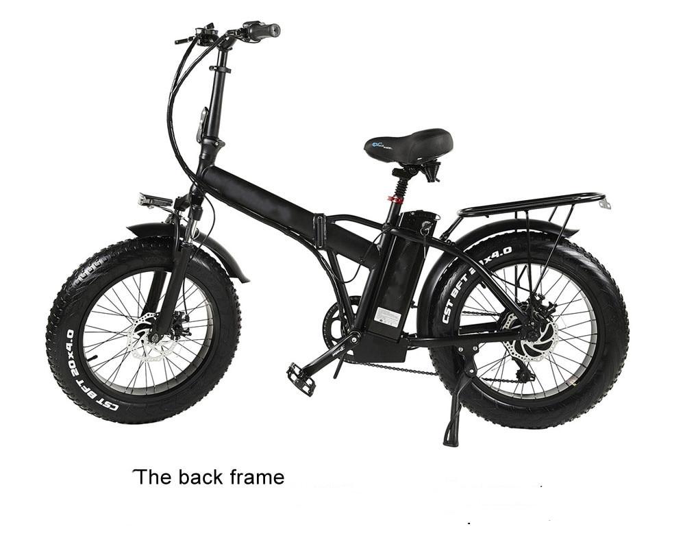 (EU STOCK)20inch 500W 48V15AH lithium battery fat tire electric bicycle electirc bike e bike e bicycle ship No taxes