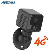 4G Mini Kamera 1080P Wifi Batterie Zwei-wege Audio Sicherheit Kamera CCTV Kleine Baby Monitor Drahtlose Video Überwachung