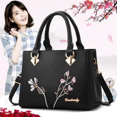 New Style PU Leather Luxury Handbags Crossbody Ladies Hand Shoulder Bags Female For Women Bolsas Feminina Bag Mk Boston Bag
