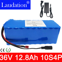 36v lithium battery 12.8ah electric bicycle lithium battery 10S4P 36Vrechargeable battery for 42V 12.8ah 500W motor with 15A BMS цены