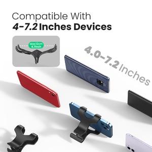 Image 3 - Ugreen טלפון מחזיק זרוע עצלן נייד טלפון Goosneck Stand מחזיק עבור iPhone 8/X גמיש מיטת שולחן שולחן קליפ סוגר עבור טלפון