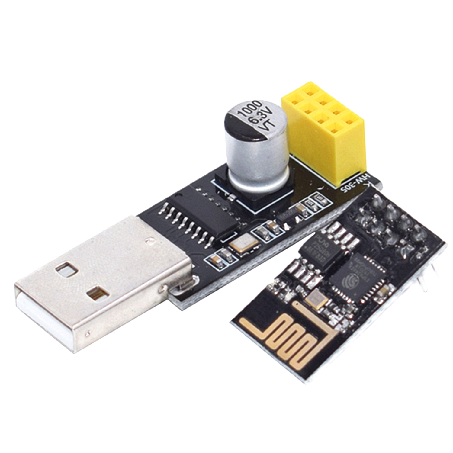 CH340 USB to ESP8266 WiFi Module Adapter Computer Phone Wireless Communication Microcontroller for Arduino