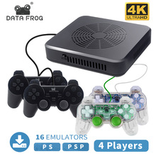 Video-Game-Console Downloadable 3400-Games 4-Player Datafrog Built-In Support Wifi 4K