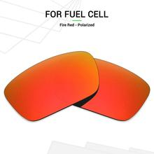 Polarizedreplacement-Lenses Fuel-Cell-Sunglasses Mryok Oakley Anti-Scratch for Fire Red