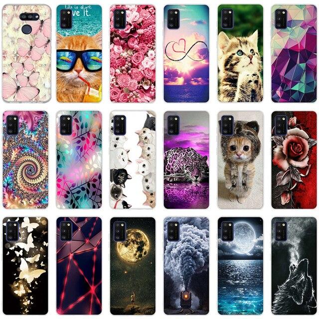 For Samsung Galaxy A41 Case TPU Soft Silicone Phone Bag Cover Cases For Fundas Samsung A 41 A41 A415 Back Case Bumper Coque Capa