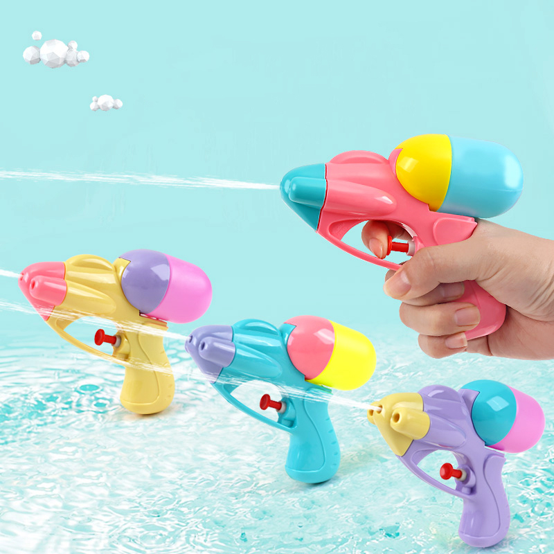 2pc Mini Water Gun Toy Kids Party Interactive Outdoor Beach Games Props Portable Water Squirt Gun Toys Children Birthday Gift