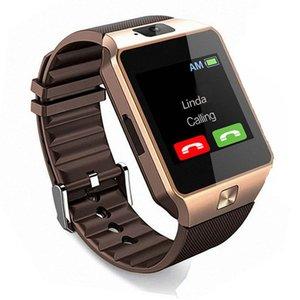 Умные часы с сенсорным экраном DZ09, наручные часы с камерой, SIM-карта, умные часы для телефонов IOS, Android, поддержка нескольких языков