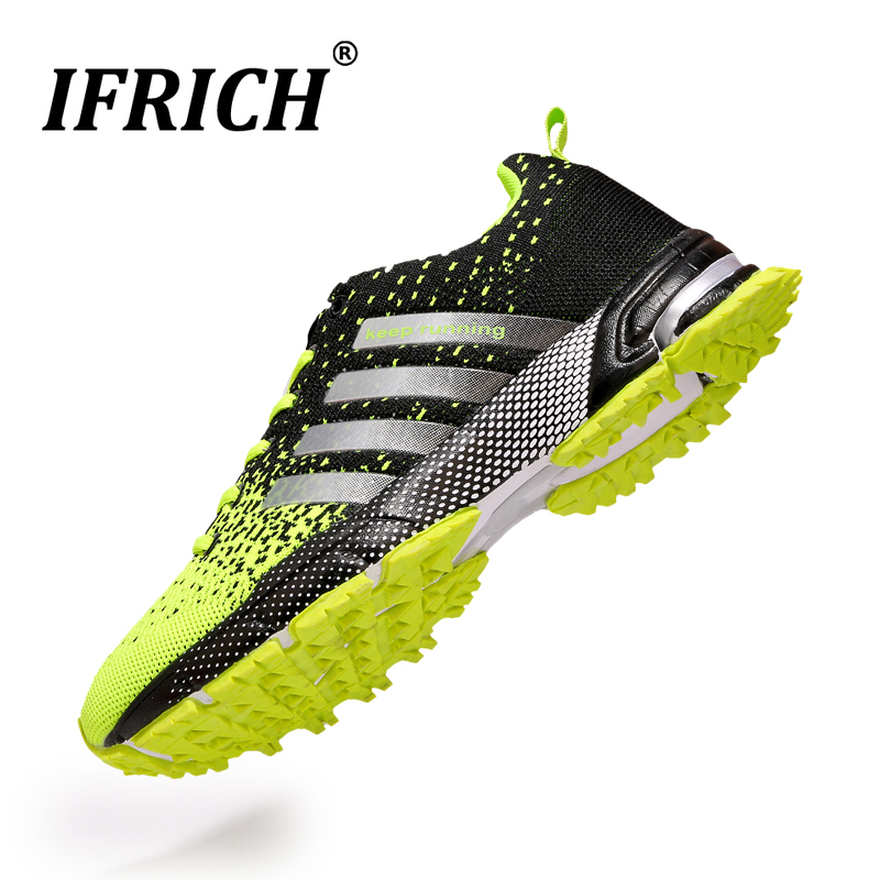 Breathable Women's Golf Shoes Couple Spikes Sport Golf Shoes Mens Boys Golf Walking Sneakers Grass Training Athletics Shoes Mesh